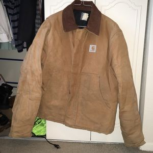 Men's Carhartt Jacket w/Corduroy Collar! Size 44